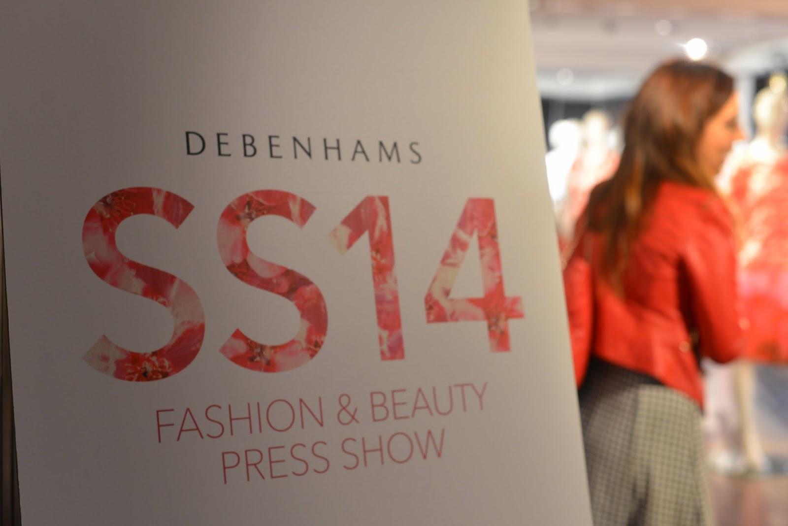 Debenhams SS14