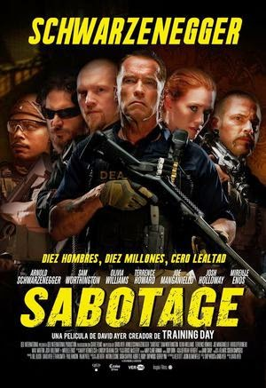 Poster Sabotage 2014