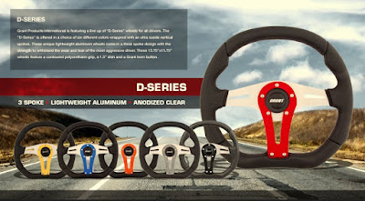 Grant D-Series Steering Wheel