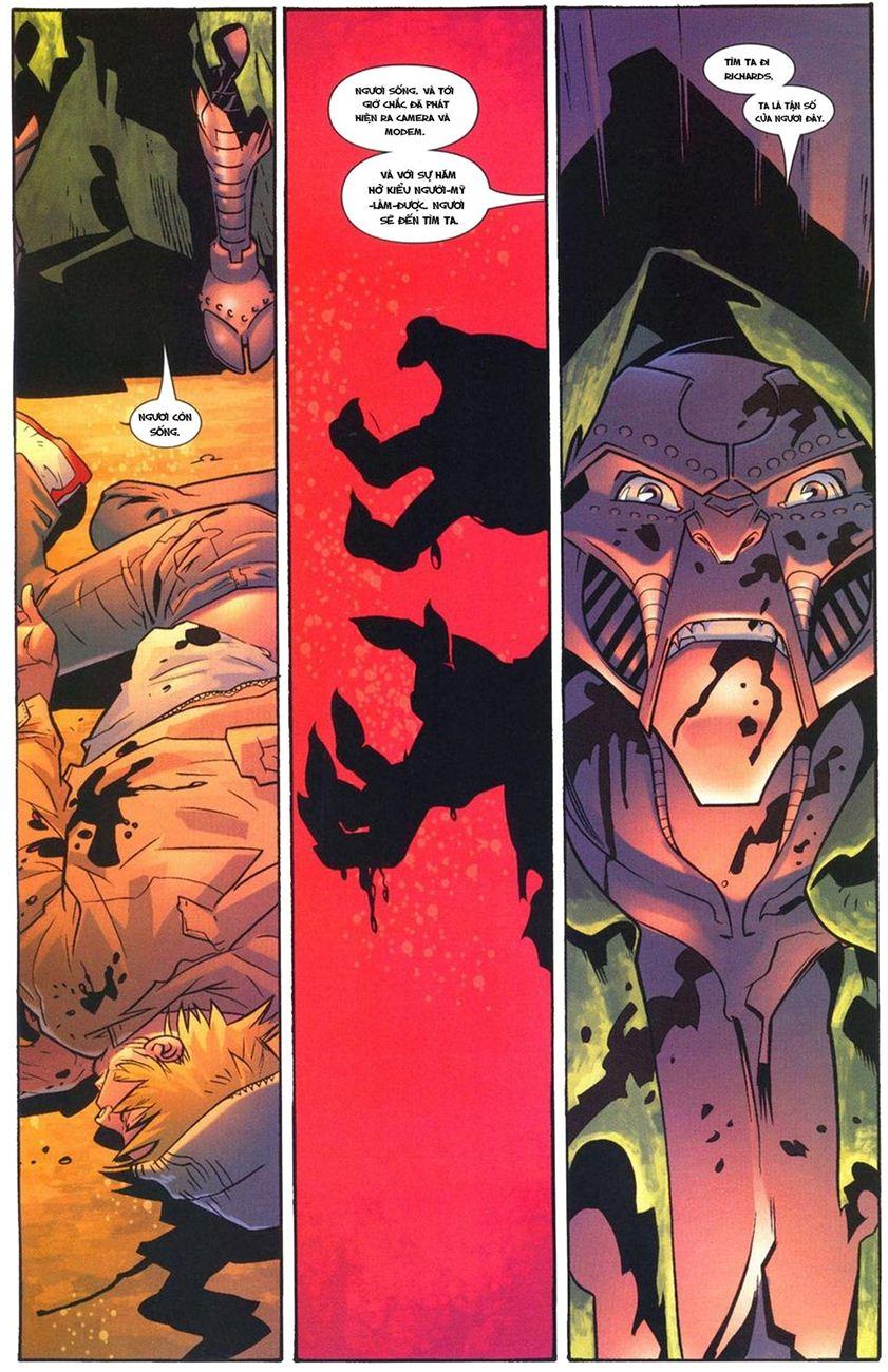Ultimate Fantastic Four chap 10 - Trang 20