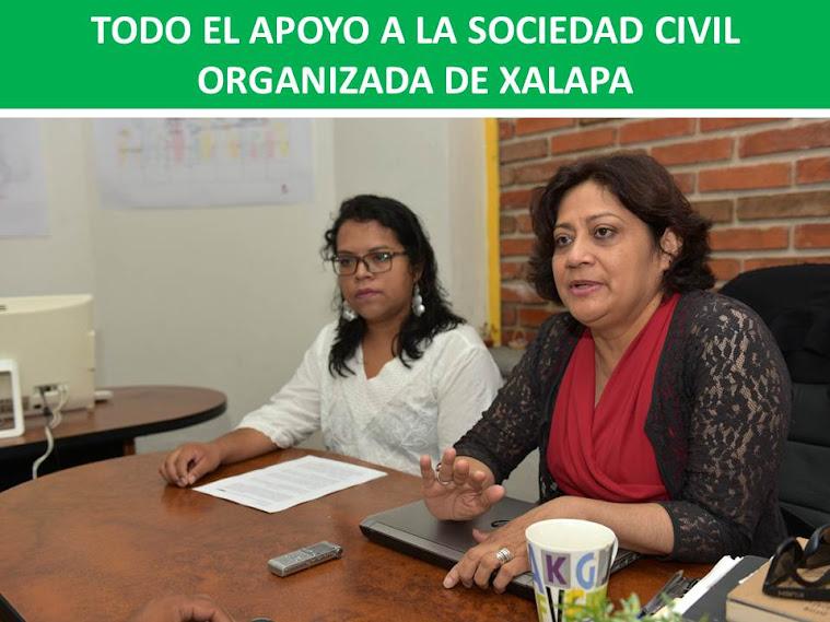 TODO EL APOYO A LA SOCIEDAD CIVIL ORGANIZADA DE XALAPA