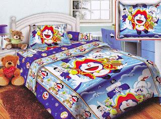 Sprei Belize Doraemon