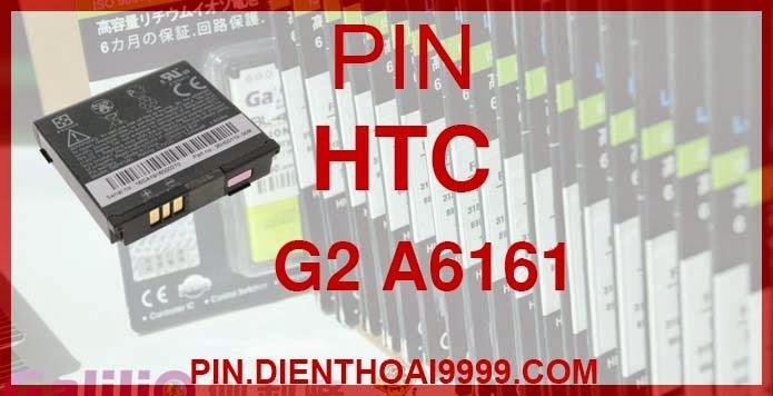 Pin HTC G2 - Pin Chính hãng / Pin Galilio G2 dung lượng cao. - Giá 200K - Bảo hành: 6 tháng  - Pin tương thích với điện thoại HTC G2/ Pin HTC Magic A6161/ A6188/ Pin HTC My touch 3G  Thông số kĩ thuật: - Pin HTC G2 được thiết kế kiểu dáng và kích thước y như pin nguyên bản theo máy, Pin tiêu chuẩn, chất lượng như pin theo máy. - Kích thước: - Dung lượng: 1700 mAh - Điện thế: 3.7V - Công nghệ: Pin Li-ion Battery