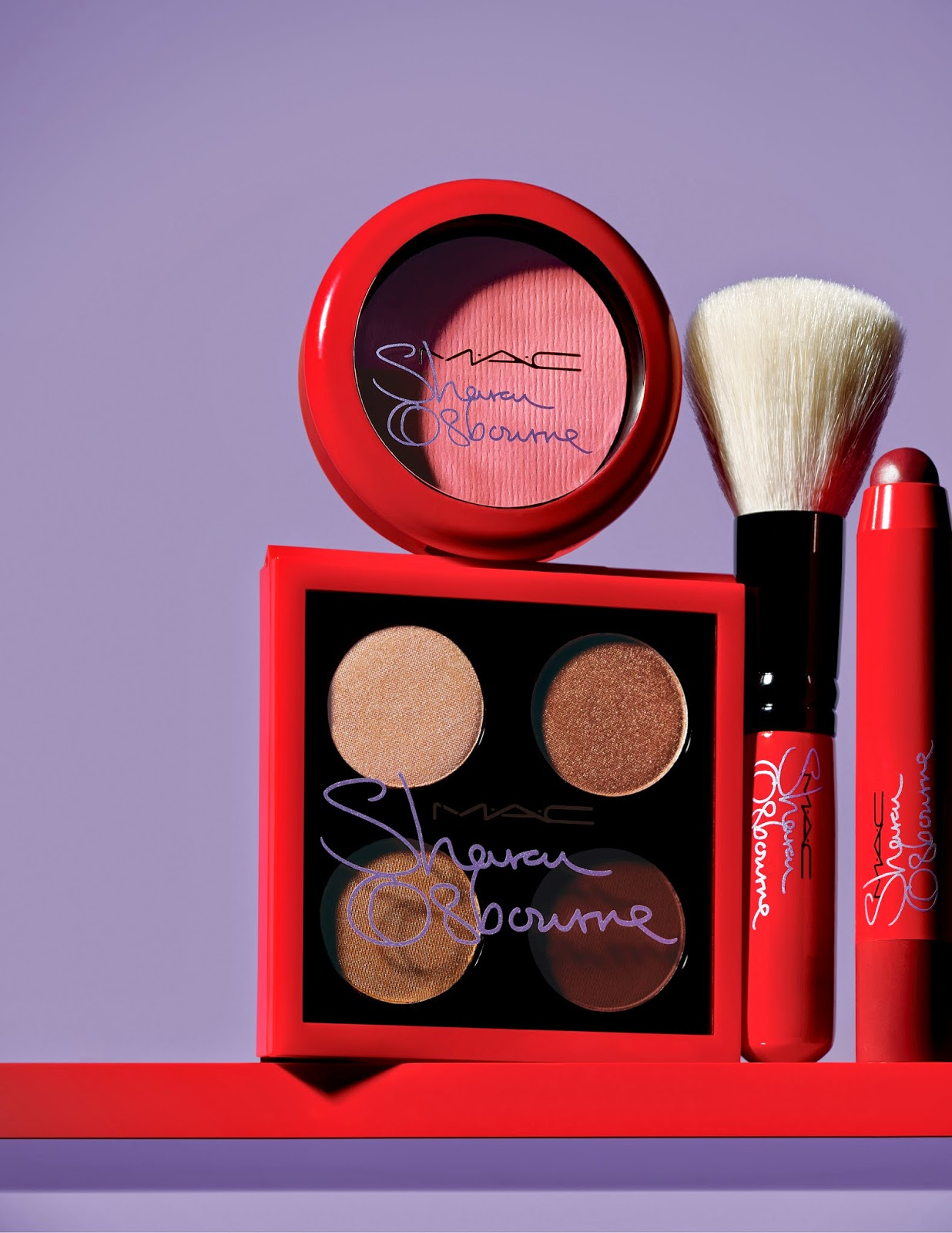 Sharon Osbourne's MAC collection