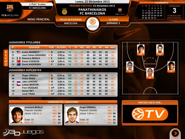 International Basketball Manager (2011) PC Full Español