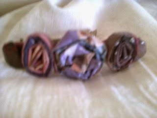 Hebillas  francesas para el cabello decoradas artesanalmente