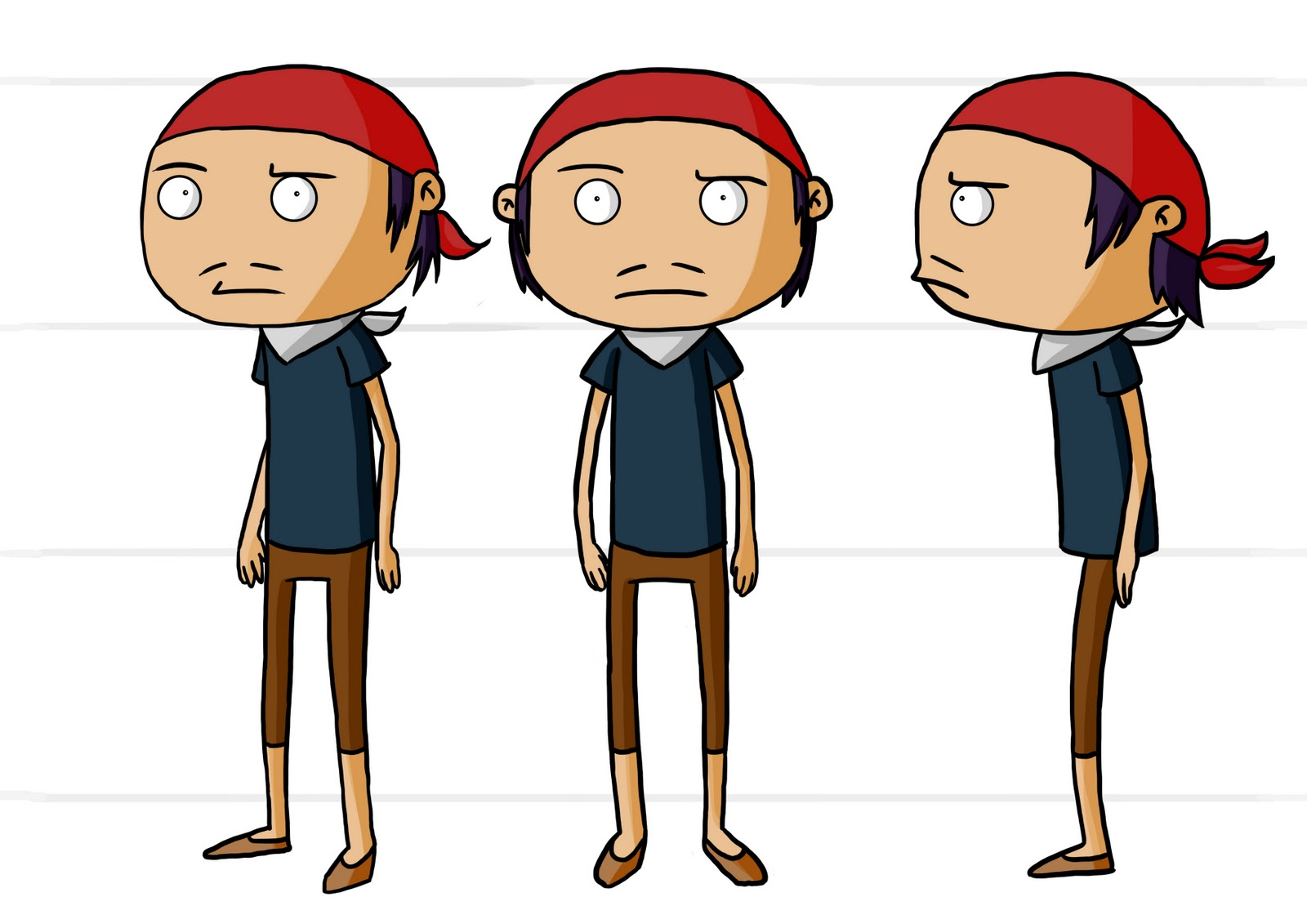 year 2 2d: post 4 - madagascar character designs