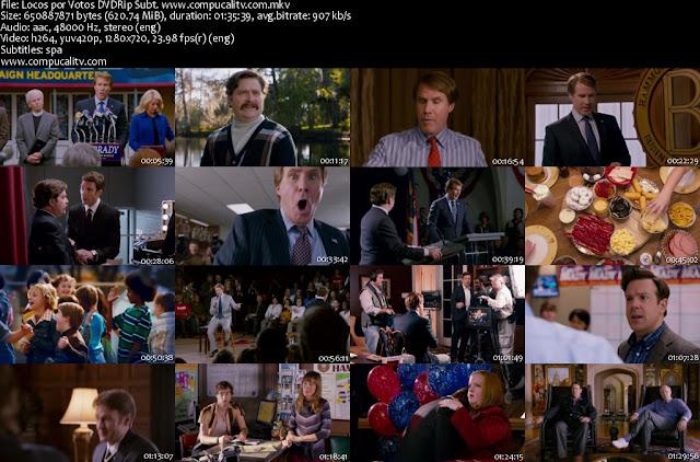 Locos por los Votos DVDRip Subtitulos Español Latino Película 2012
