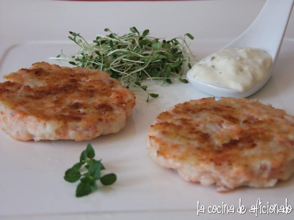 La cocina de aficionado hamburguesas de pescado - Hamburguesas de pescado para ninos ...