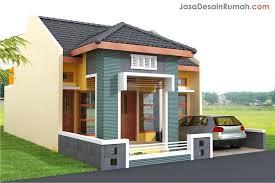 desain  rumah modern satu lantai