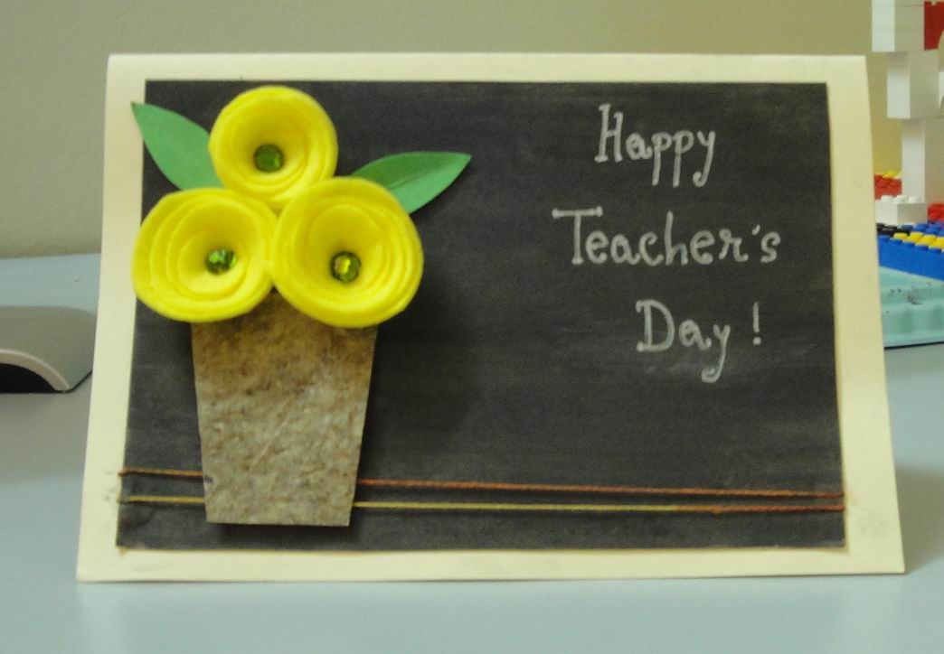 My handmade cards dedication dedication its a teachers day m4hsunfo Image collections