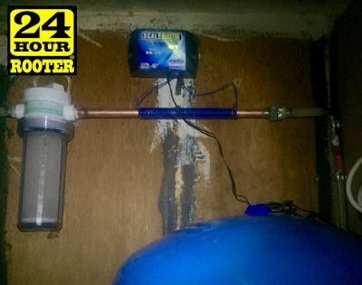 yakima plumbers install a water treatment softener for yakima plumbing customers