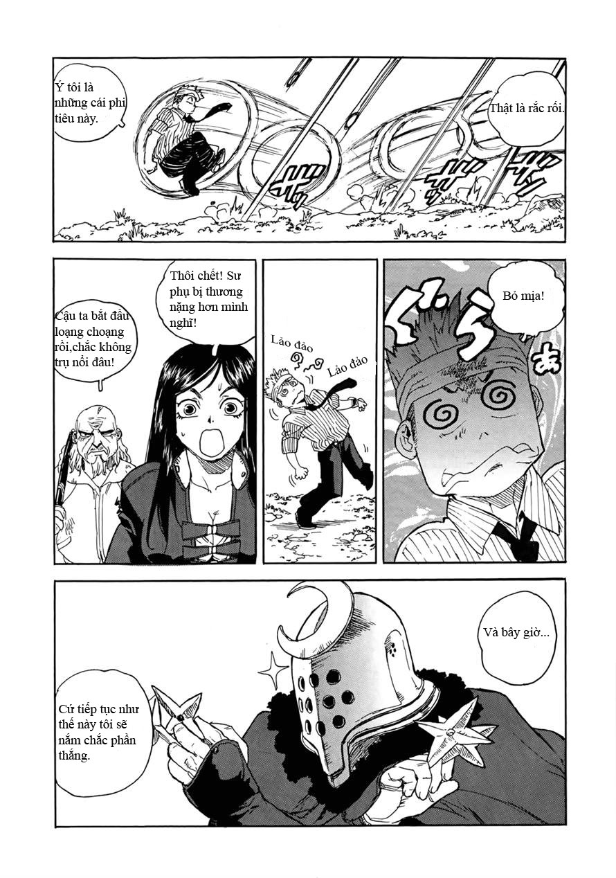 Aiki chap 96 - Trang 16