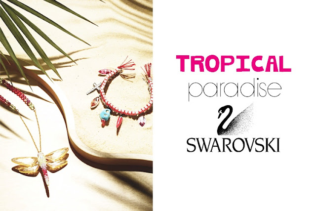 tropical paradise swarovski image
