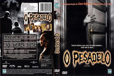 Filme O Pesadelo DVD Capa