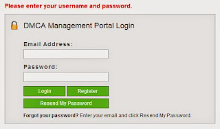 login HTTPS DMCA protocol