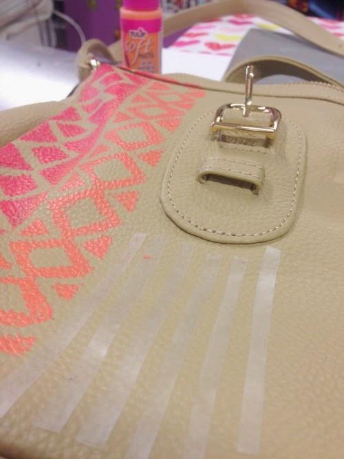 Aztec-inspired Derin Bag