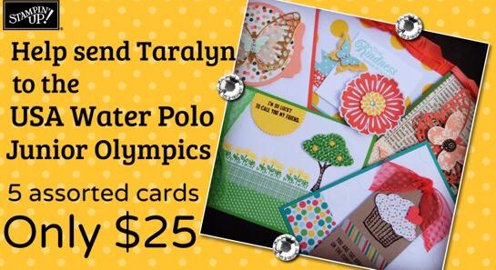 Krystals Cards Stampin Up Birthday Greeting Cards And Water Polo