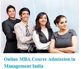 Online MBA Course Admission in Management India