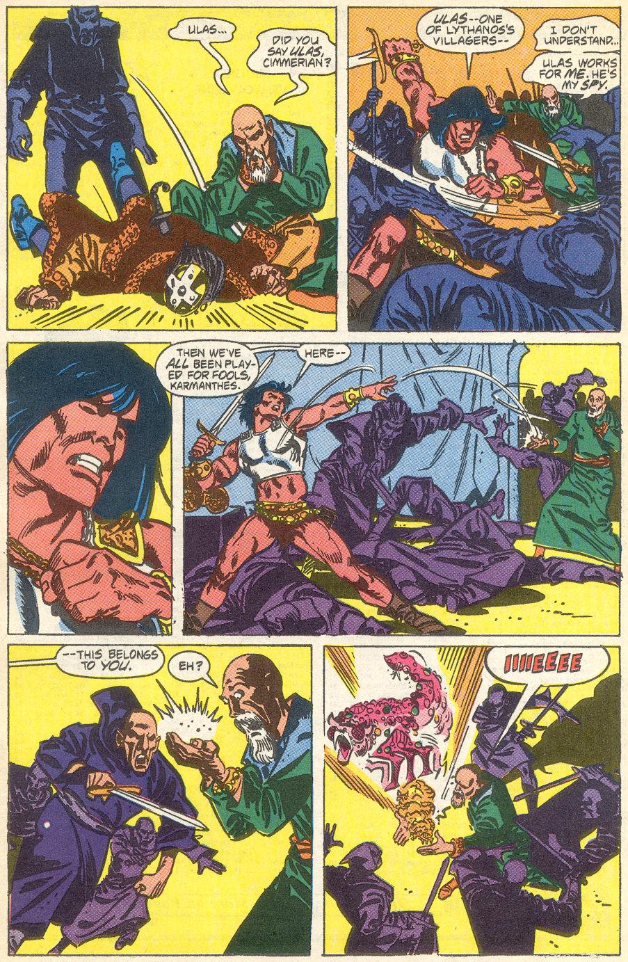 Conan the Barbarian (1970) Issue #231 #243 - English 18