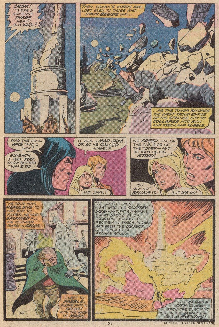 Conan the Barbarian (1970) Issue #56 #68 - English 19