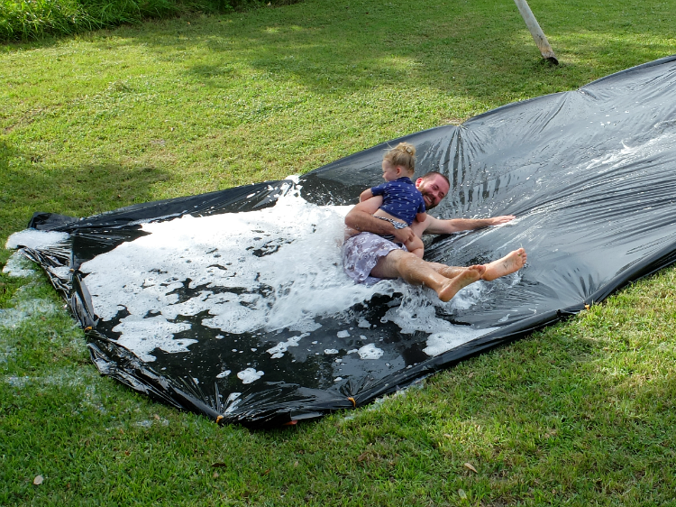 Sweet Turtle Soup - Summer Bucket List: Slip N Slide