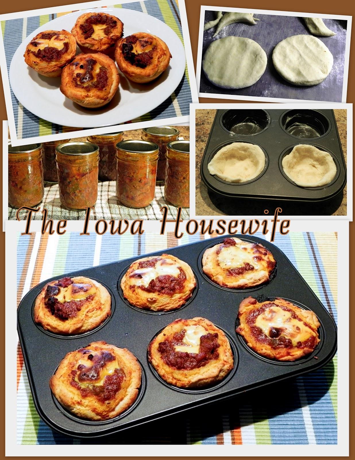 The Iowa Housewife: Hamburger Mix Cheeseburger Cup Muffins