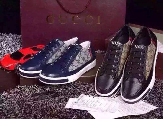 Giày thể thao vải, da Gucci 1.450.000 VNĐ