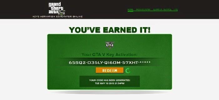 Gift Gta V Key Activation Generator Online 171 Technologi