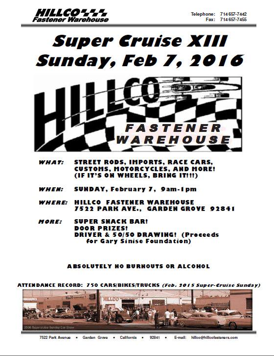 2016 Hillco Super Cruise XIII