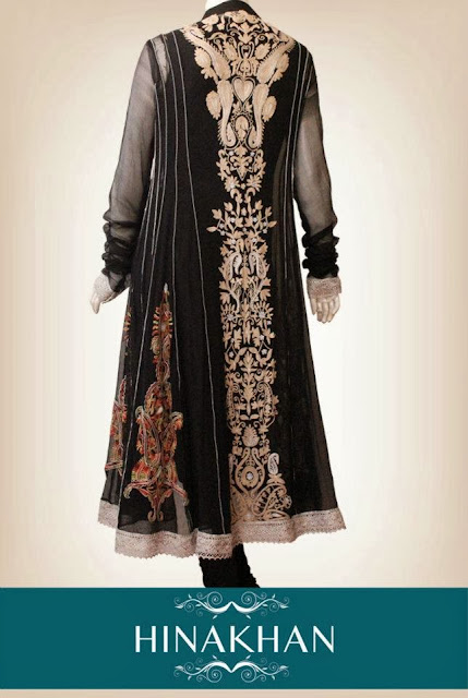 Long Shirts Summer Dress By Hina Khan 2013-2014