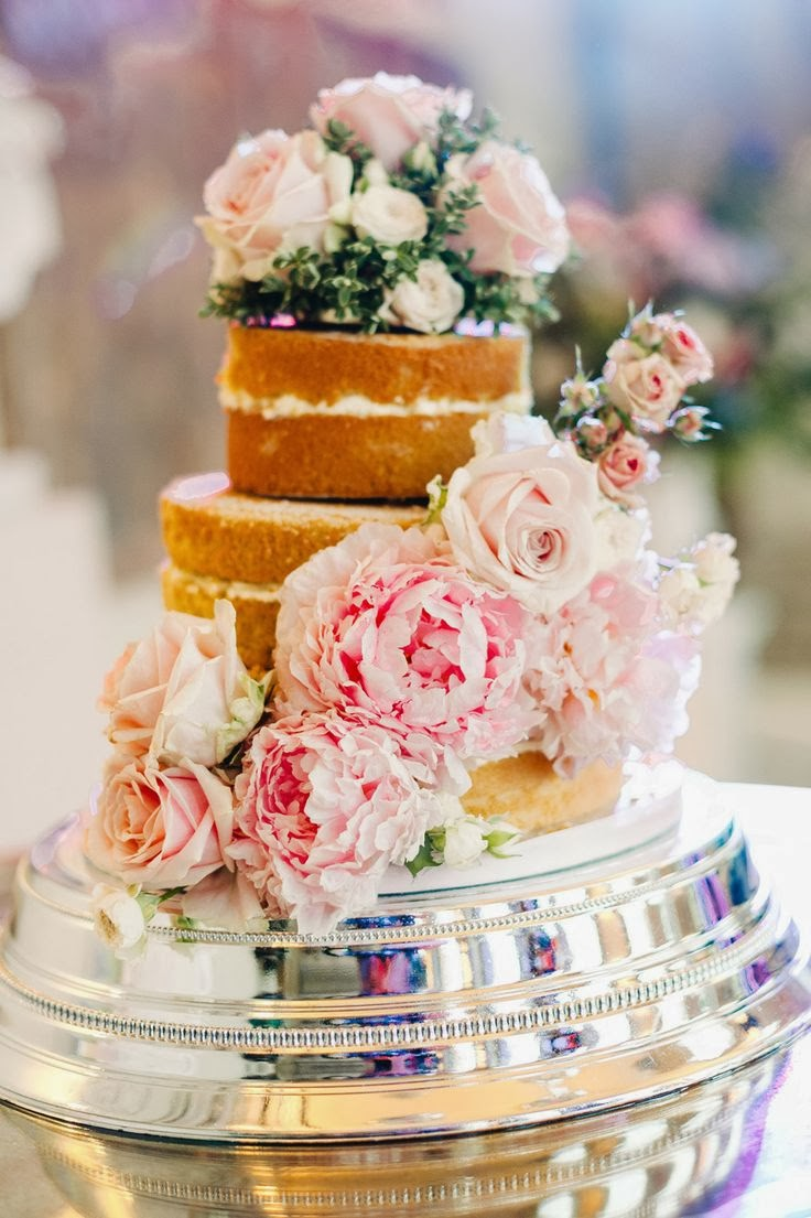 naked cakes: shell & chinoiserie blog