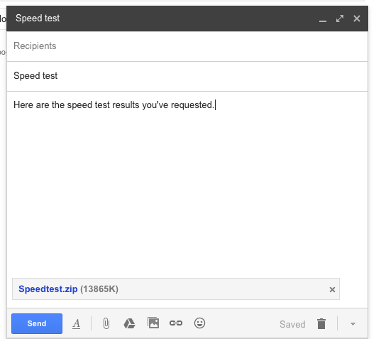 how to transfer files from gmail to google drive