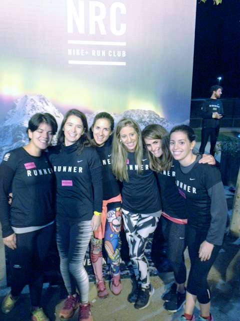Nike Running Club Madrid Cambio de Hora 2 AM