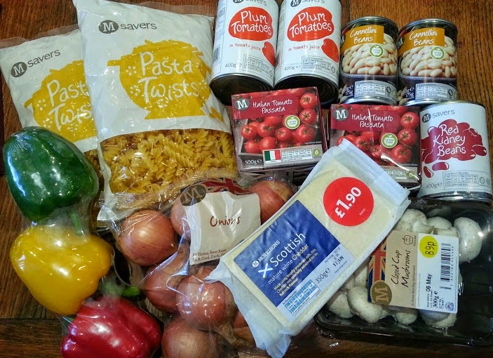 Pasta sauce or chilli ingredients and recipe