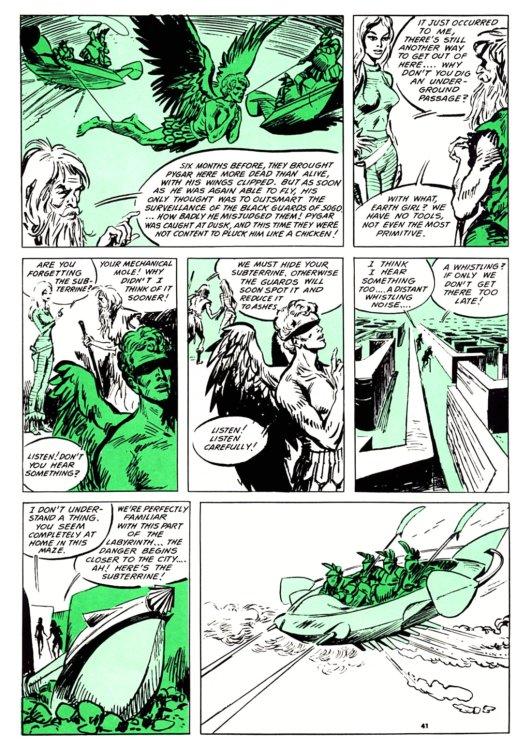 Atomic Kommie Comics: Reading Room: BARBARELLA 2.1