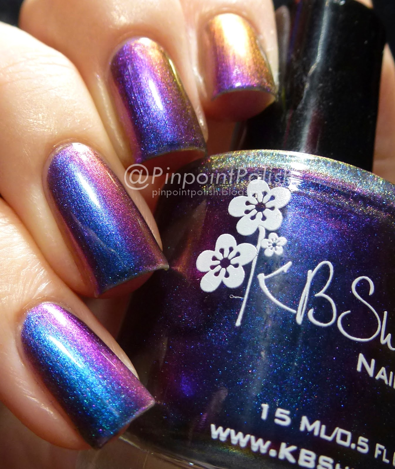 Pinpoint Polish!: KBShimmer - Shade Shifter & Rollin\' With The Chromies