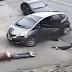 Bandido ligado a roubo a caixa eletrônico é executado ao vivo