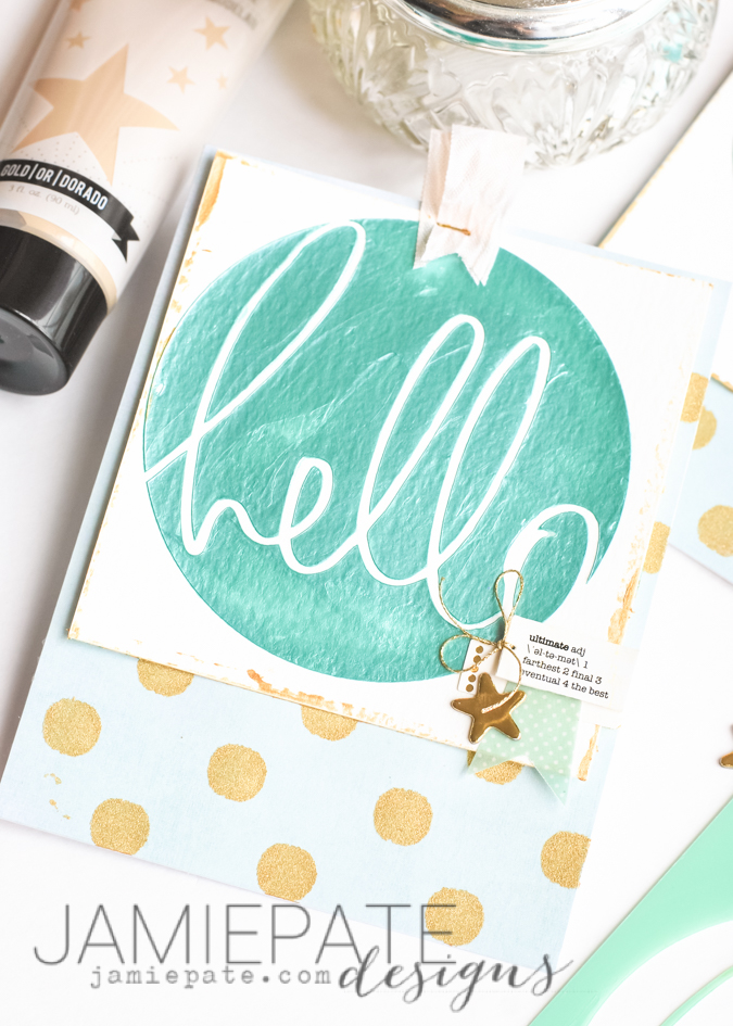 New Heidi Swapp Texture Paste and Stencils. Two ways to create mixed media cards with texture paste and art screens. @jamiepate @heidiswapp