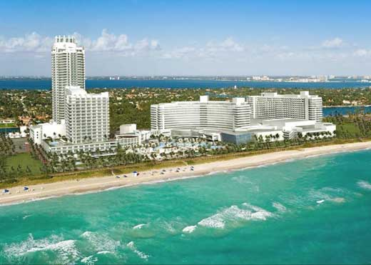 Hotel Fontainebleau Miami Beach Florida