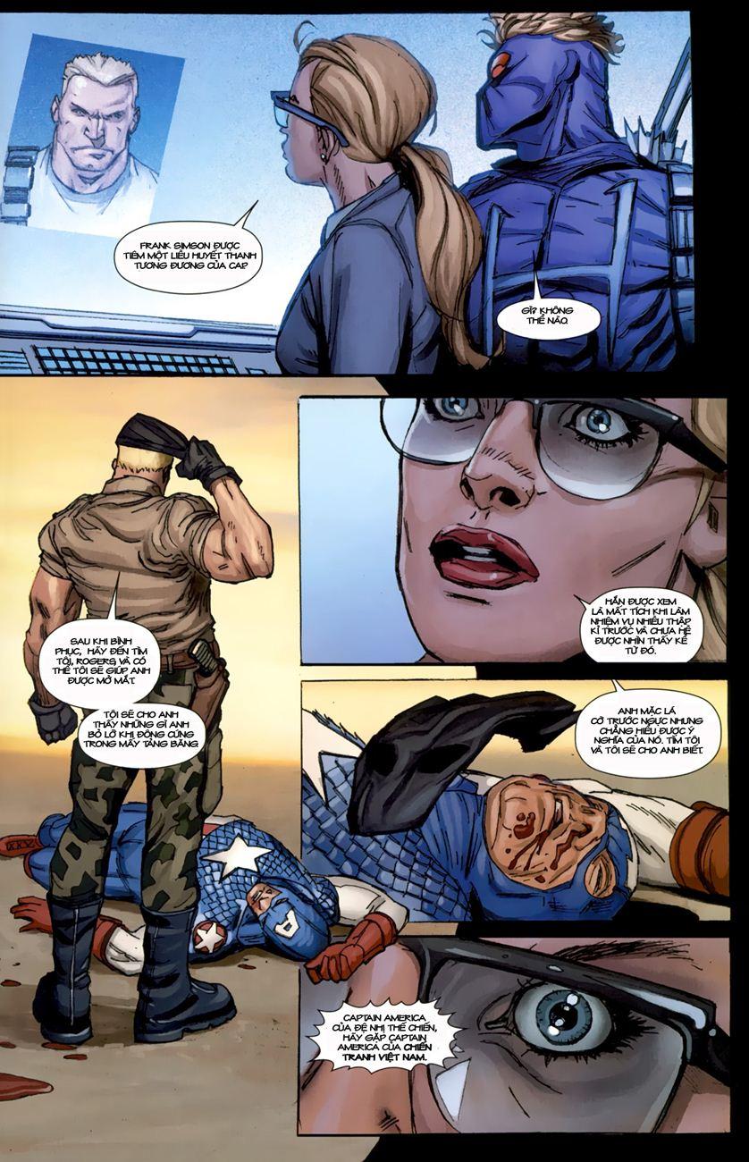 Ultimate Captain America chap 1 - Trang 25