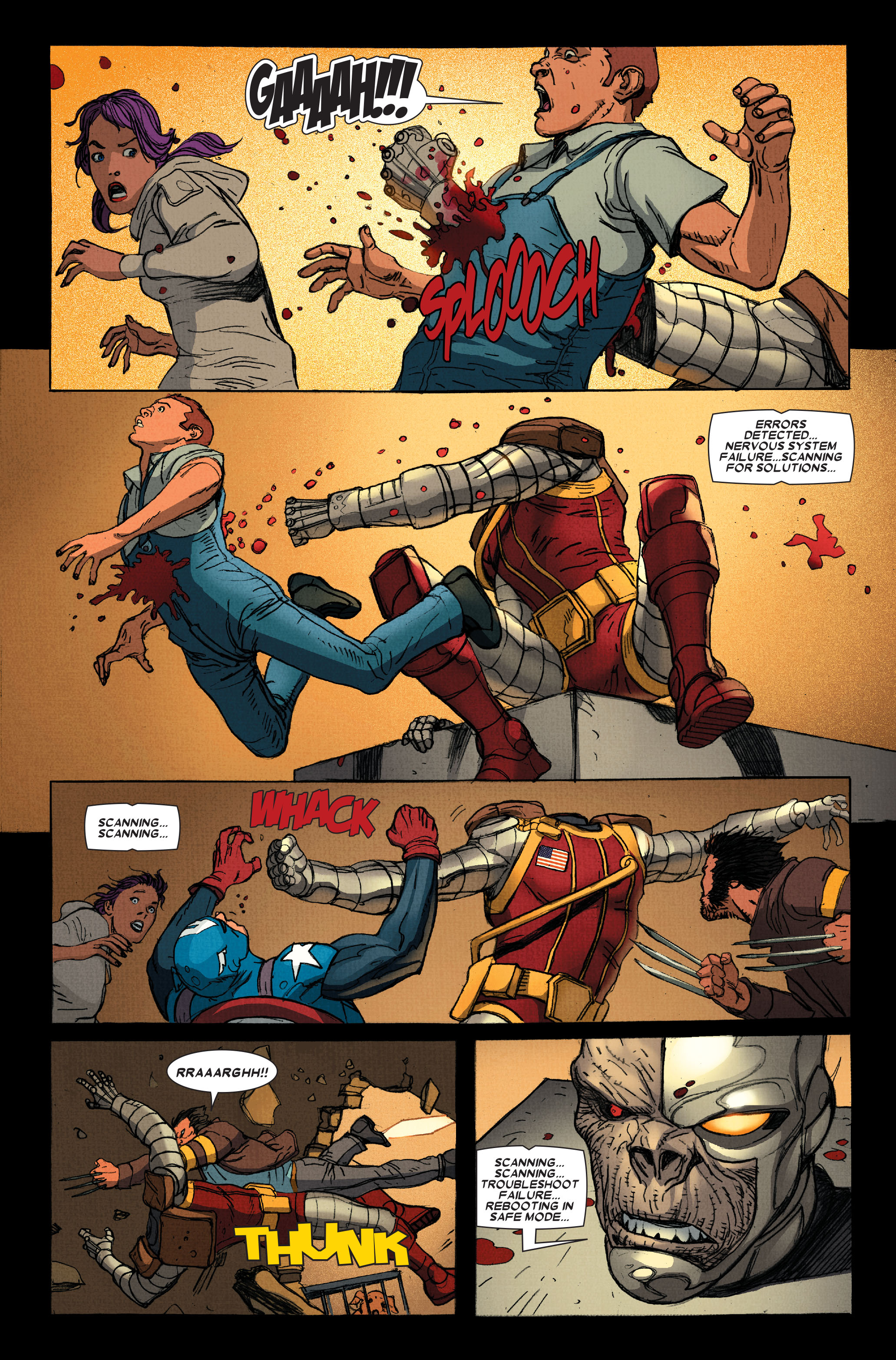 Wolverine: Weapon X #13 #4 - English 20