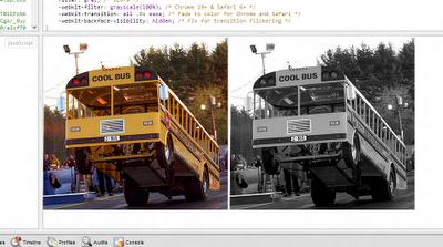 Merubah Gambar Menjadi Hitam Putih dengan CSS