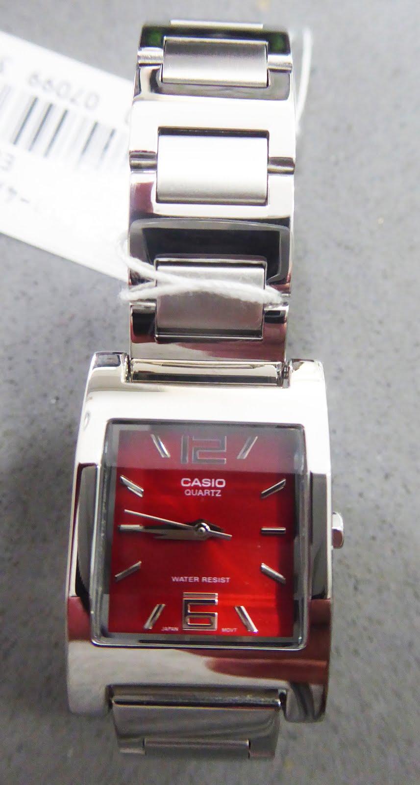 Reloj Casio de chica