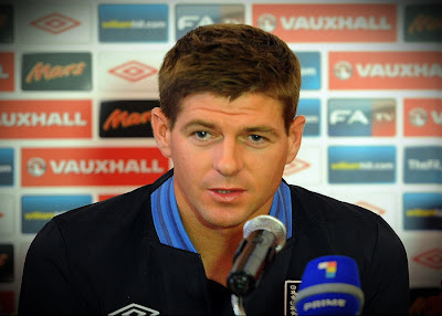 Gerrard: We are not the Favorites for the World Cup