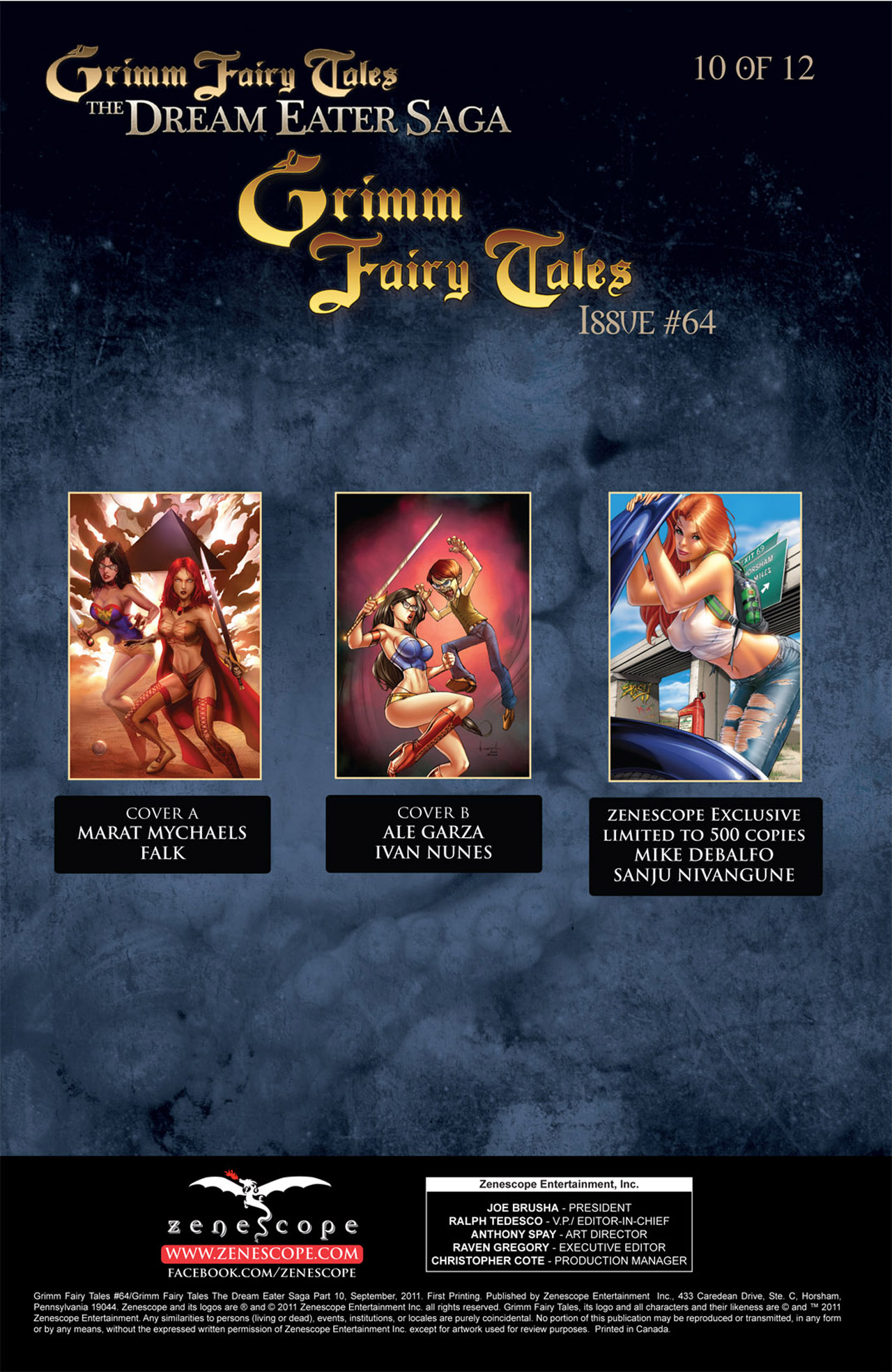 Grimm Fairy Tales (2005) Issue #64 #67 - English 2