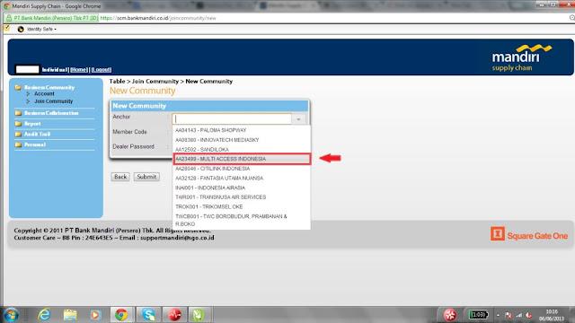 Panduan Deposit 24 Jam via Web SCM Mandiri Chip Sakti Bisnis Pulsa Murah Payment PPOB Lengkap