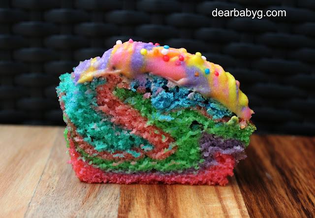 rainbow frosting recipe
