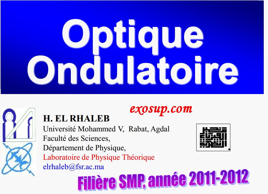 cours optique smp s4 fsr