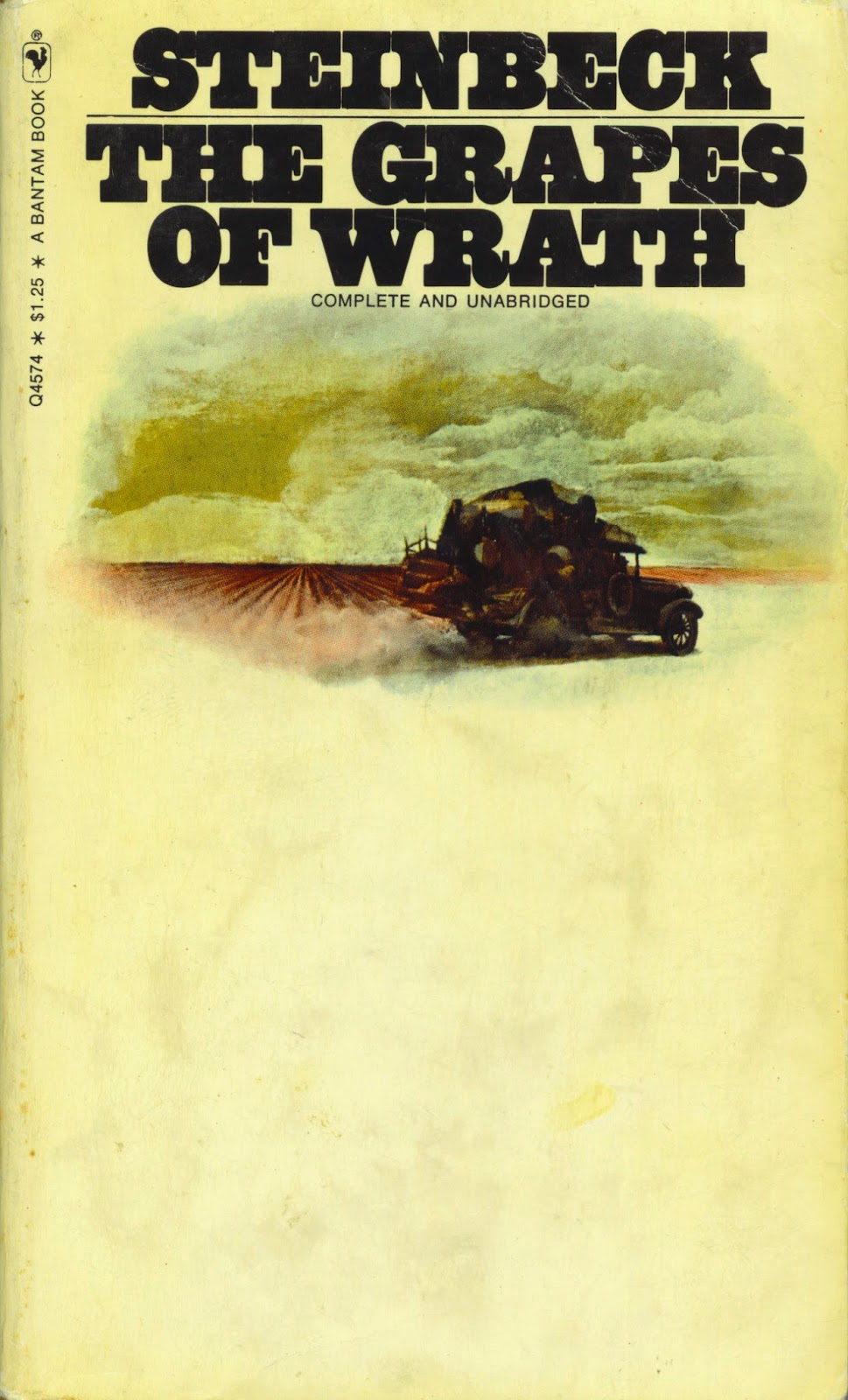 an analysis of leaders in the grapes of wrath by john steinbeck